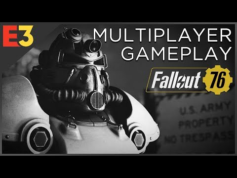 FALLOUT 76 Gameplay at Bethesda's E3 2018 Press Conference, Featuring Todd Howard