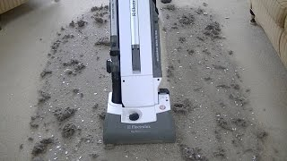 Electrolux Sanitaire The Professional Upright Vacuum Cleaner Demonstration & Review