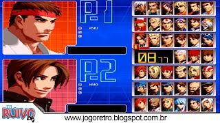 The King of Fighters 2002 (EDIT 2019) com TAG System