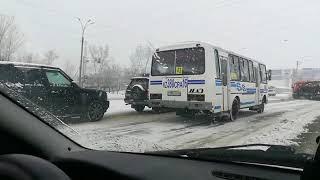 В Усть-Каменогорске водитель автобуса нарушил сразу несколько пунктов ПДД