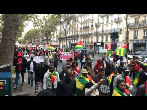 Des milliers de togolais ont marché à Paris, de Bastille à République