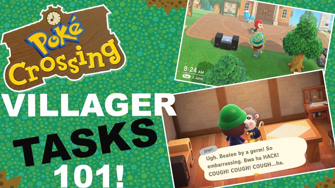 Villager Tasks 101! (Animal Crossing New Horizons) - YouTube