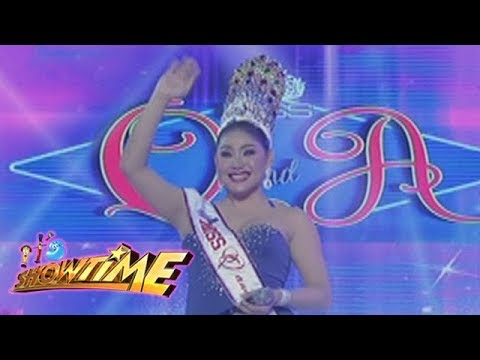 It's Showtime Miss Q & A: Matmat Centino, defends her title, wins for the 6th time