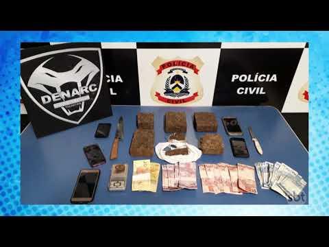 O Povo na TV: Pai e filho são presos suspeitos de tráfico de drogas em Palmas