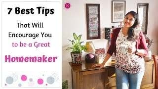 How To Be An Efficient Homemaker / Best Homemaking Tips To Be A Great Homemaker