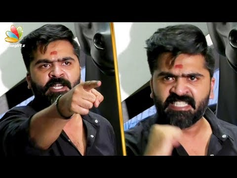 Simbu Angry Fight With Press Reporter | Cauvery Management Board and Sterlite