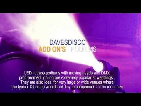Wedding DJ Manchester Professional DJ And Disco - Up Lighting Hire