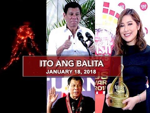 UNTV: Ito Ang Balita (January 18, 2018)