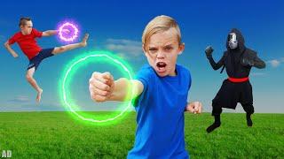 A Ninja Spy Sneaks Our Treasure X Ninja Gold on Kids Fun TV!