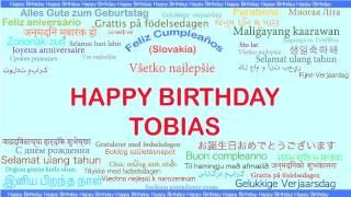 Tobias   Languages Idiomas - Happy Birthday
