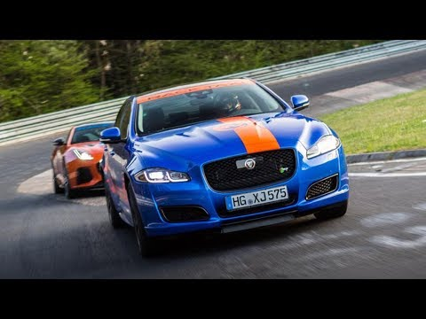 NÜRBURGRING ONBOARD LAP IN THE JAGUAR XJR RACE TAXI WITH DALE LOMAS