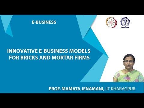 Innovative E-Business models for Bricks and Mortar firms