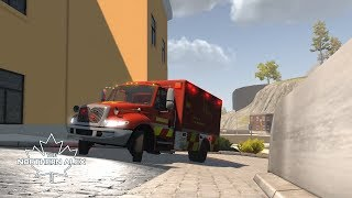 Flashing Lights - New Ambo in action - PC Gameplay