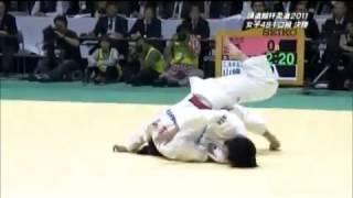 講道館杯柔道2011 女子48㎏級決勝 福見友子敗れる!