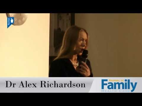 Dr Alex Richardson talks about the rise in mental health disorders