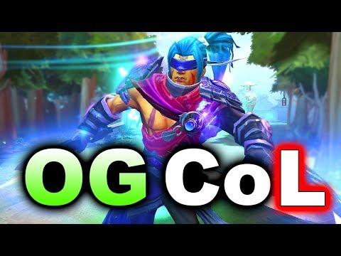 OG vs CoL - Wildcard FINAL - SUMMIT 8 MINOR DOTA 2