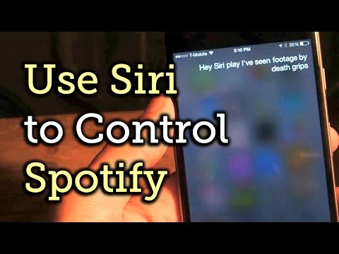 Use Siri to Play Music from Spotify on iOS 8 - iPad, iPhone, iPod touch [How-To]