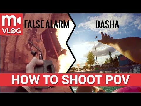 """How to shoot a first-person video like """"The Weeknd: False Alarm""""????????????"""