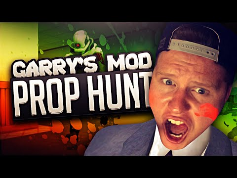 PLAYING THE RADIO! (Garry's Mod Prop Hunt)