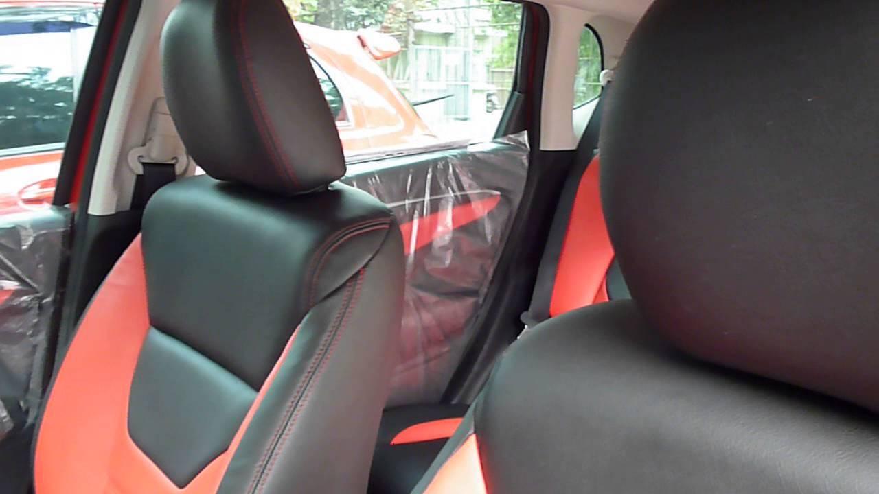 Sarung Jok Mobil Honda Jazz Rs 2014 Warna Merah Dan Hitam