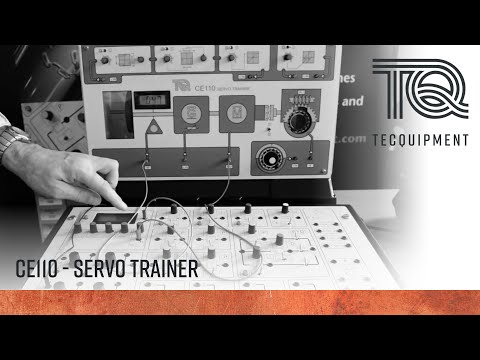 Control Engineering - Servo Trainer CE110