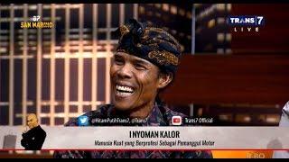 Manusia Kuat Pemanggul Motor Asal Bali | HITAM PUTIH (11/09/19) Part 2