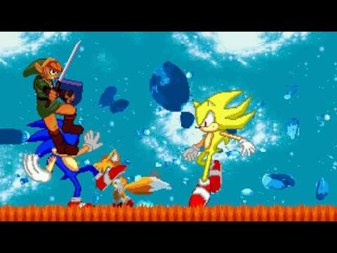 AN Mugen Request #826: Sonic & Tails VS Sonic.exe & Link