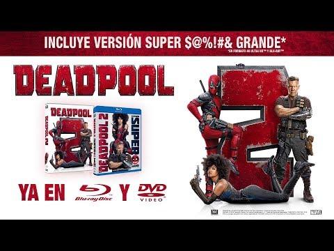 DEADPOOL 2 | Ya en 4K Ultra HD™, Blu-Ray™ y en Alquiler y Venta Digital