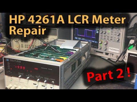 🔴 #380 HP 4261A LCR Meter Repair Part 2