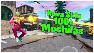 SHOWING THE * NEW * SKIN SALTIMBANK & 100 + BACKPACKS | FORTNITE