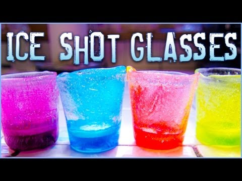 How to make Ice Shot Glasses