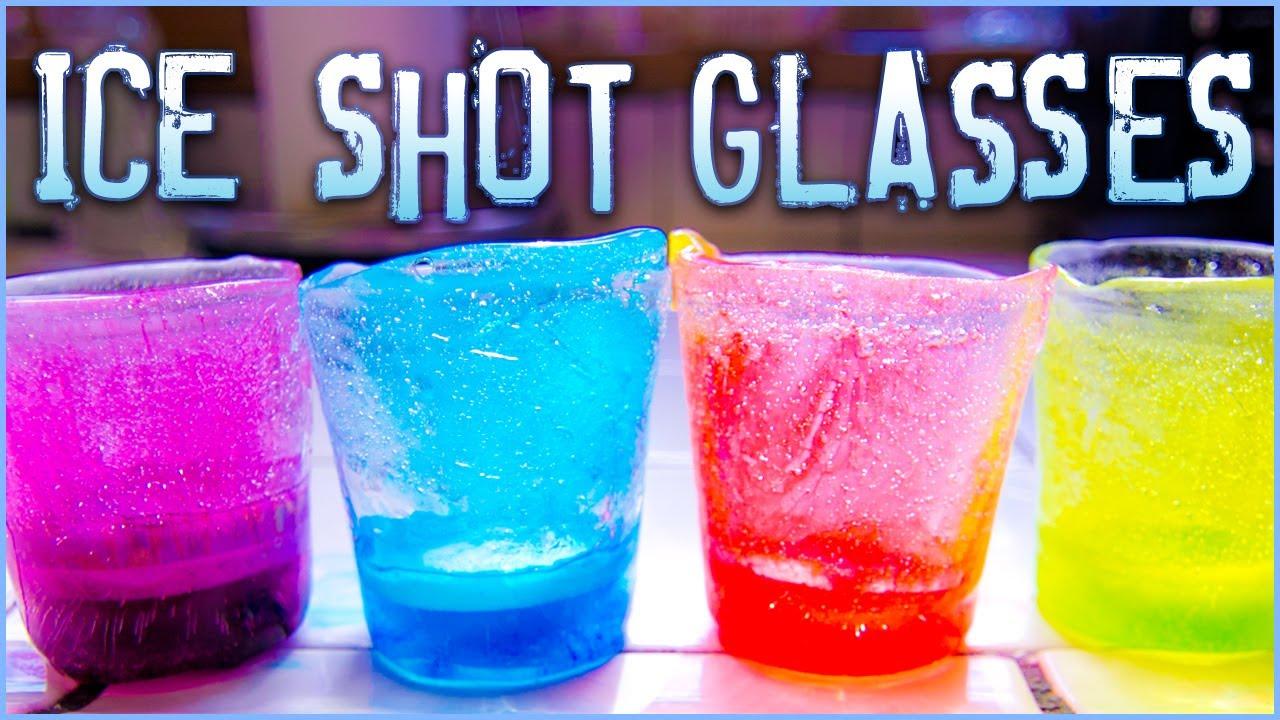 How to Make Frozen Shot Glasses
