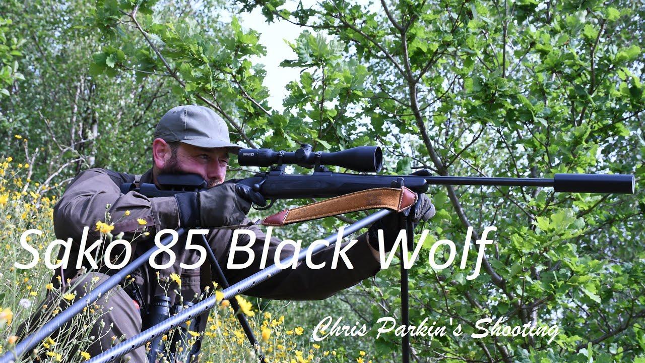 sako 85 black wolf rifle in 270 win youtube