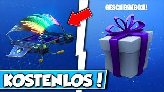 🎁FREE HANGERS IN FORTNITE!! 😱 - NEW FORTNITE GIFT is DA!!