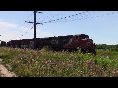 CN and VIA action near Trenton | 07-04-2016
