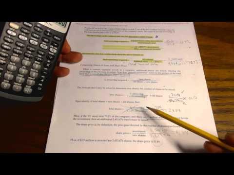 Basic Venture Capital Formula Pg 1-2 part 2