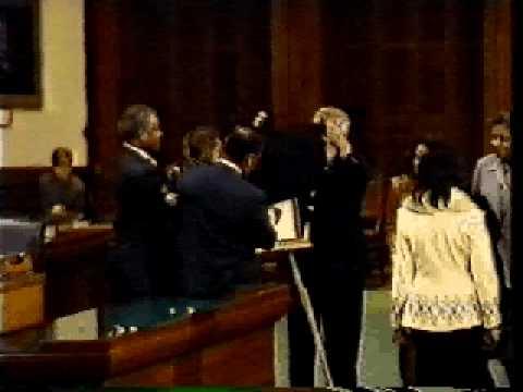 Senator Rodney Ellis as President Pro Tempore of the Texas Senate. Pt. 1