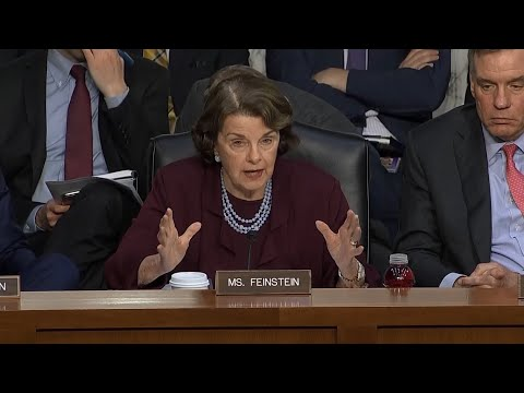 Raw Video: Sen. Feinstein Criticizes Tech Firms On Russian Meddling