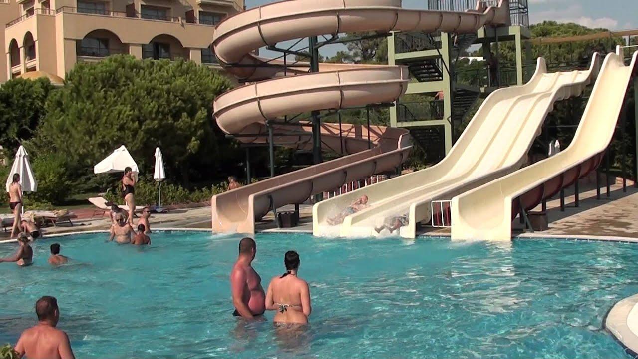 Hotel Spice 5 Belek Antalya Turcia Piscina Cu Topogane