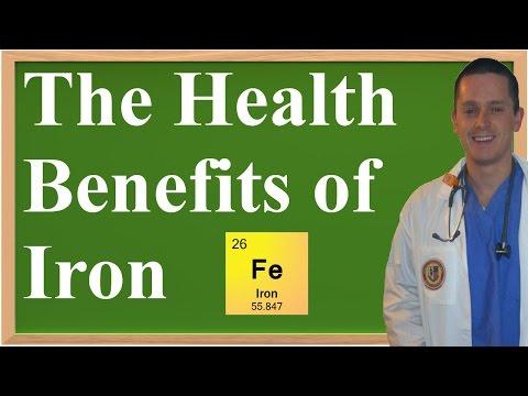 The Health Benefits of Iron