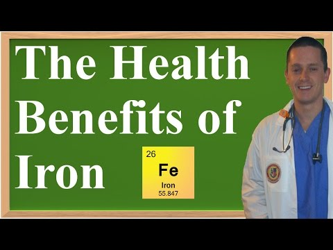 The Health Benefits of Iron