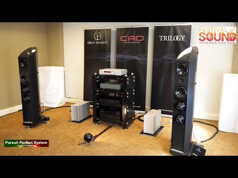 Wilson benesch CAD Trilogy Audio NEW Products chat Part 2 @ Festival of Sound 2018