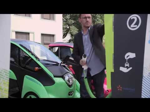 "Overview of ""Cité lib by Ha:mo"" EV sharing trial"