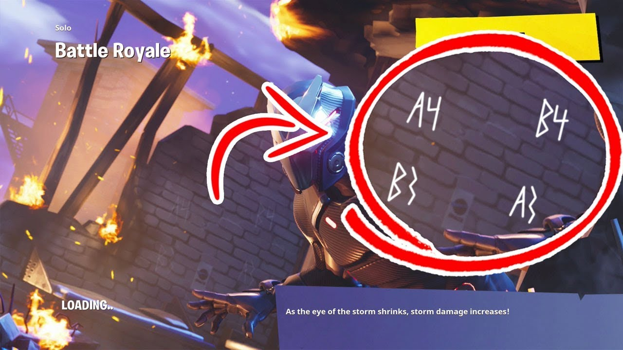 New Fortnite Secret Wallpaper Easter Egg Youtube