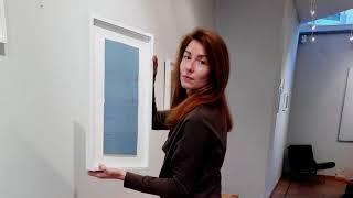 """Geneviève Asse à Bruxelles : l'exposition """"Geneviève Asse -Peinture, Dessin, Gravure""""."""