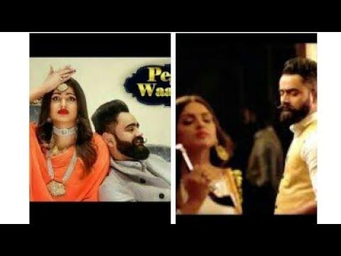 Peg Di WaashnaAmrit Maan first Release At Studio With Amrit Maan
