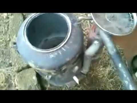 4) Газогенератор на дровах своими руками #4