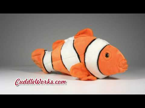 Clown Fish Stuffed Animal At CuddleWorks.com