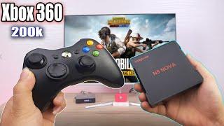 Tay Cầm Chơi Game Giá Rẻ Cho Androi TV Box , Smart Tv,Điện Thoại...Xbox 360 chỉ với 200k