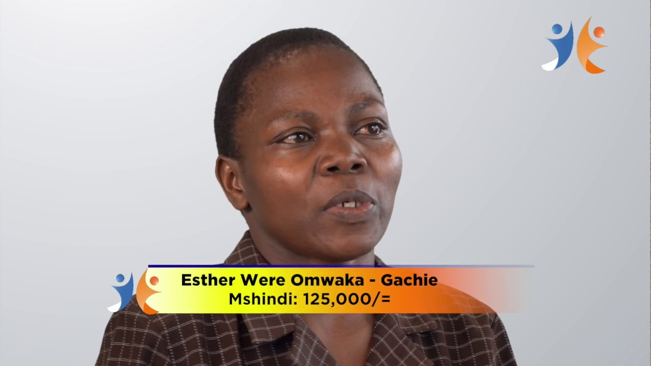 shabiki Jackpot Mbao 026 Winner - Esther Omwaka